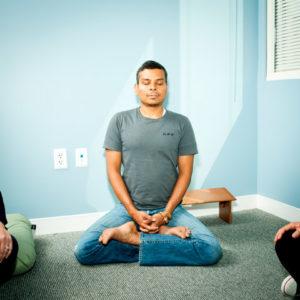 Комната для медитаций в Facebook