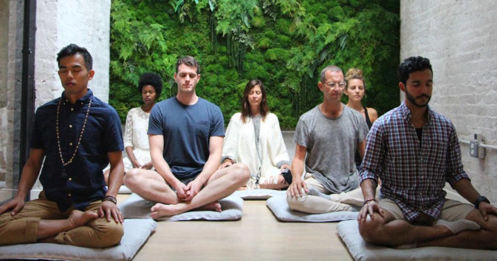 светская медитация