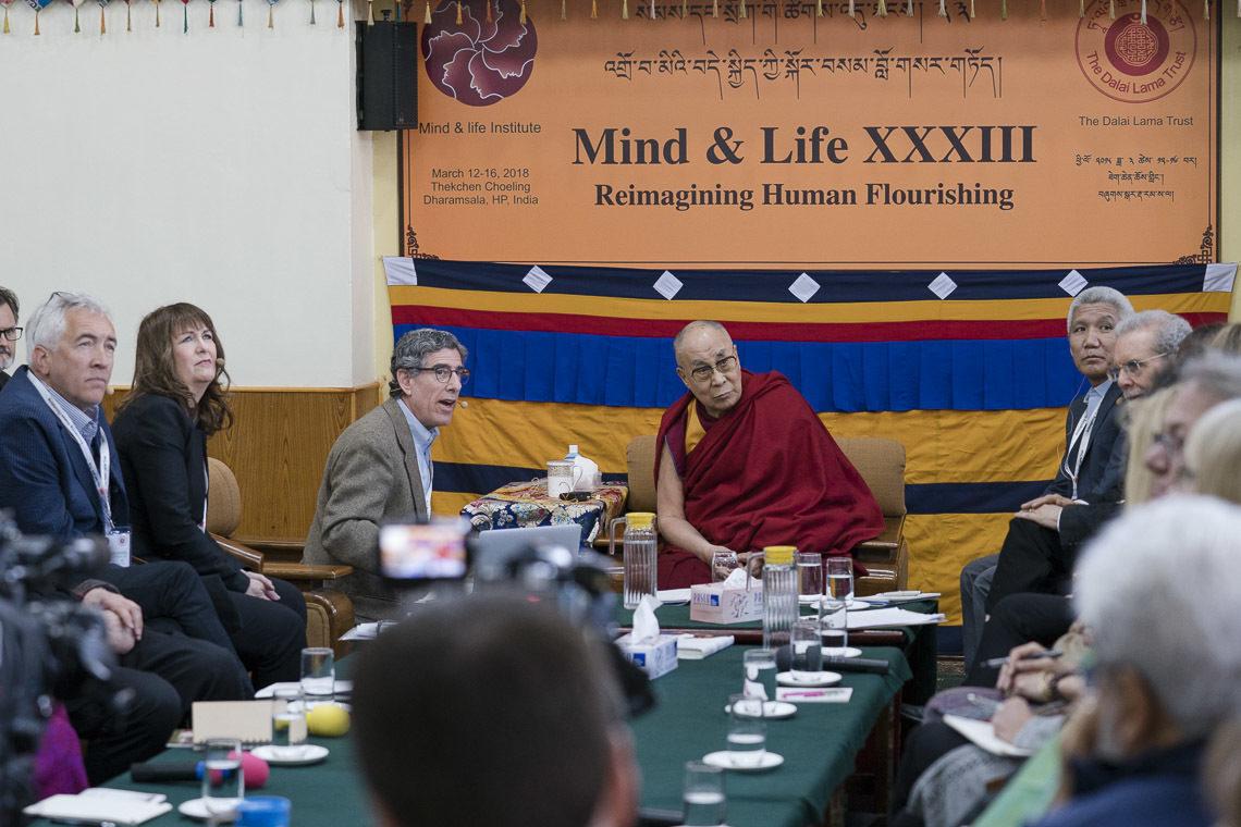 Далай-Лама и Ричард Дэвидсон